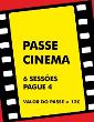 Passe Cinema - 6 Sessões