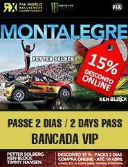 FIA Rallycross Bancada VIP 2Dias/2Days