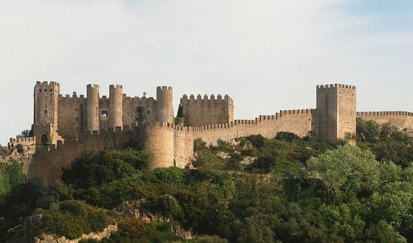 Cerca do Castelo de Óbidos
