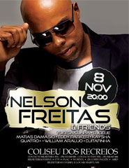 Comprar Bilhetes Online para NELSON FREITAS ELEVATE