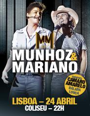 Comprar Bilhetes Online para MUNHOZ & MARIANO
