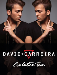 Comprar Bilhetes Online para DAVID CARREIRA