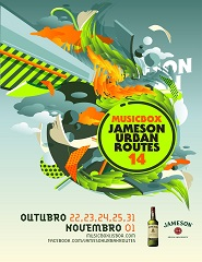 Comprar Bilhetes Online para Future Islands + Memória de Peixe # Jameson Urban Routes