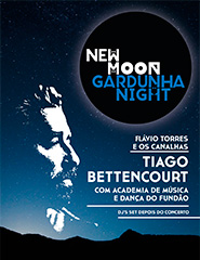 New Moon Gardunha Night - Tiago Bettencourt c/ Orq. Acad. Dança Fundão