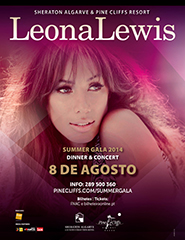 Leona Lewis - Pine Cliffs Summer Gala 2014