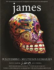Comprar Bilhetes Online para JAMES