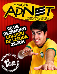 MARCELO ADNET STAND UP COMEDY