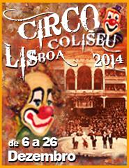 CIRCO DE NATAL COLISEU DE LISBOA 2014