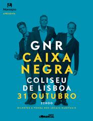 Comprar Bilhetes Online para GNR - CAIXA NEGRA