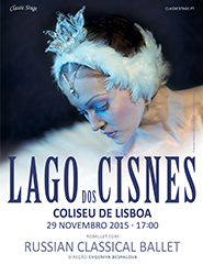 Comprar Bilhetes Online para O LAGO DOS CISNES