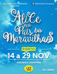 Alice no País das Maravilhas - Porto