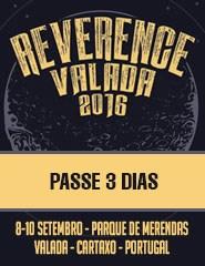 REVERENCE FESTIVAL VALADA - Passe 3 Dias