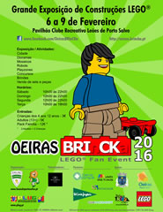 Oeiras BRInCKa 2016 - LEGO FAN EVENT