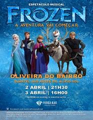 Frozen - a aventura vai começar
