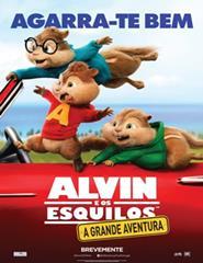 ALVIN E OS ESQUILOS: A GRANDE AVENTURA – VP – 2D