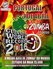 Guinness World Records - A Maior Aula de Zumba do Mundo