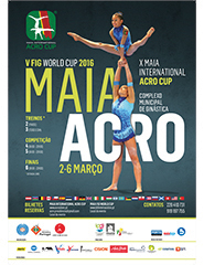 Acrobatic FIG World Cup 2016