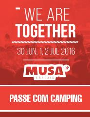 Festival MUSA Cascais 2016 | Passe COM Camping