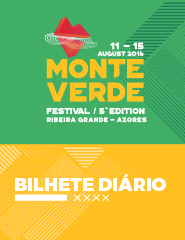 Monte Verde Festival 2016 - Bilhete Diário