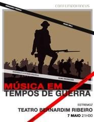 MÚSICA EM TEMPOS DE GUERRA - ENSEMBLE CONTEMPORANEUS