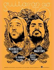 Guitarras ao Alto apresenta Norberto Lobo e Luis Martins