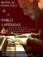 Recital de Piano - Piano Words - Intérprete: Pablo Lapidusas