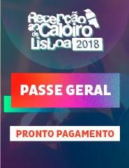 Recepção ao Caloiro de Lisboa 2018 | Passe Geral