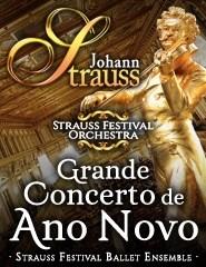 GRANDE CONCERTO DE ANO NOVO STRAUSS FESTIVAL ORCHESTRA