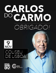 CARLOS DO CARMO | OBRIGADO!