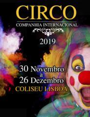CIRCO DE NATAL COLISEU DE LISBOA 2019
