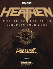 HEATHEN (1ª Parte: Potential Threat + War Curse + Toxikull)