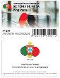 Cartão Ping Pong Fã