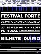 Festival FORTE 2015   Bilhete Diário