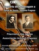Concerto de Homenagem a David de Sousa e António Fragoso