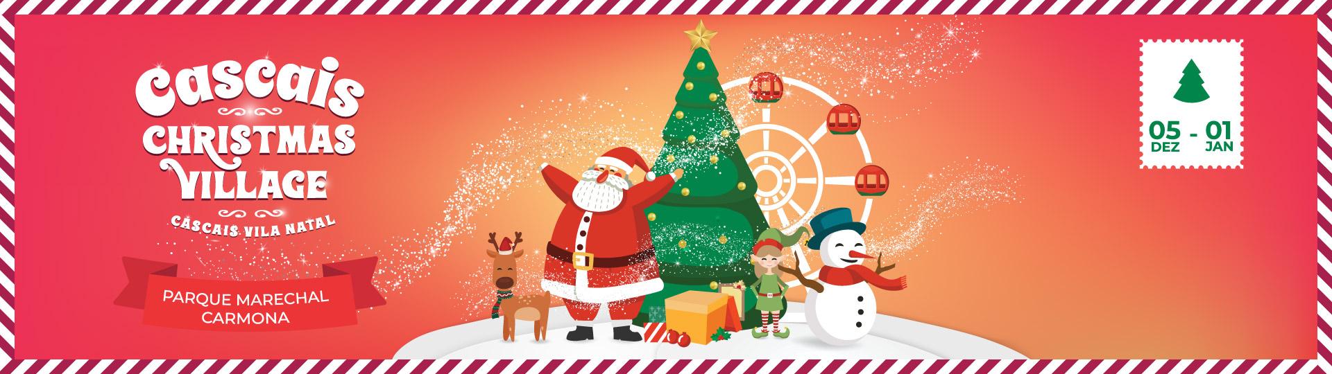 CASCAIS CHRISTMAS VILLAGE 2019