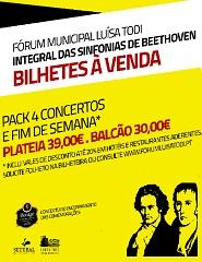 Pacote 4 Concertos Plateia