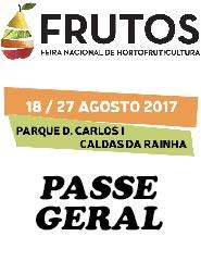 Feira dos Frutos 2017 - Passe Geral - PV