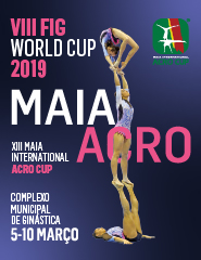 Acrobatic FIG World Cup Maia 2019