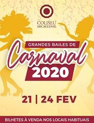 Carnaval 2020 passe individual 2 dias