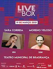 Bilhete Diário Live in a Box - 19 Março