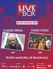 Bilhete Diário Live in a Box - 20 março