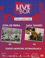 Bilhete Diário Live in a Box - 21 março