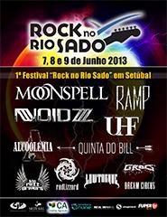 Rock no Rio Sado - Passe Diário - 2013