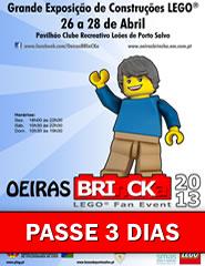Oeiras BRInCKa 2013 | PASSE 3 DIAS