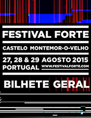 Festival FORTE 2015 | Passe Geral