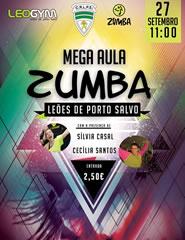 Comprar Bilhetes Online para Mega Aula Zumba