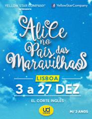 Alice no País das Maravilhas - Lisboa