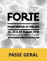 Festival FORTE 2016 | Passe Geral