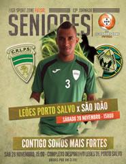 LEÕES PORTO SALVO x São João