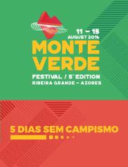 Monte Verde Festival 2016 - Passe 5 Dias sem Campismo